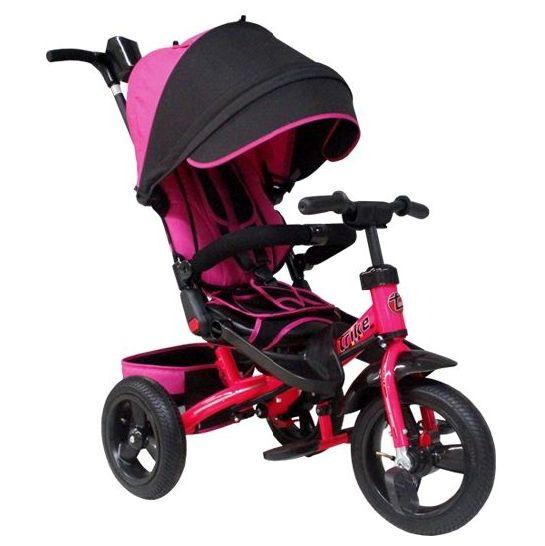 Велосипед Trike трехколесный TA5P поворотное сиденье розовый