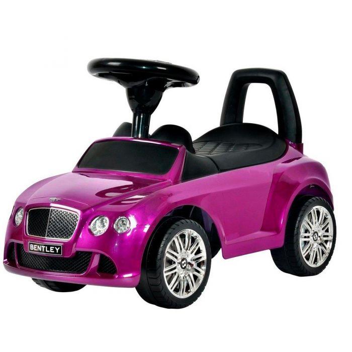 Каталка автомобиль Bentley с музыкой 326Р фиолетовый металлик