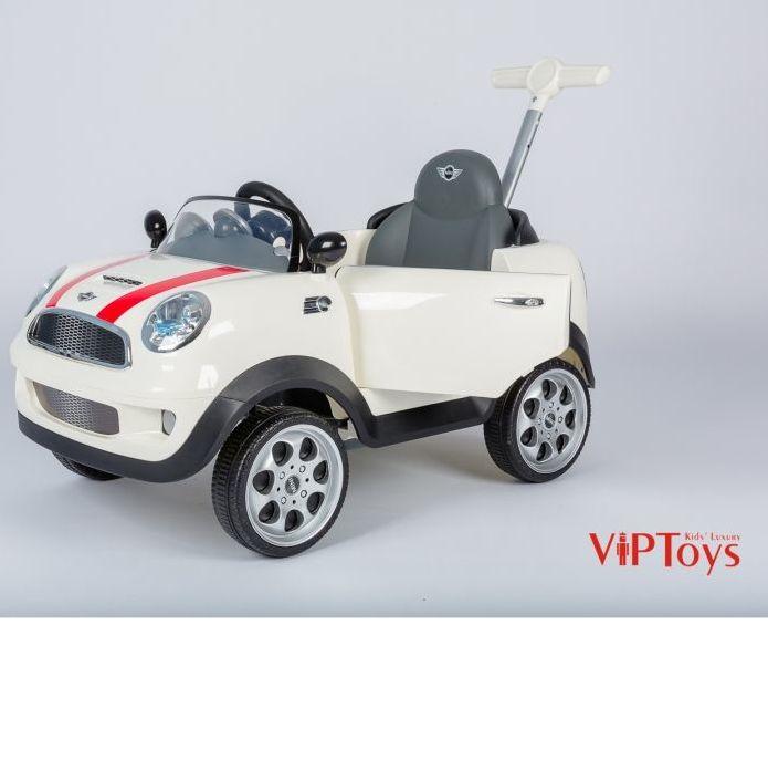 Каталка Mini Cooper Geoby ZW455 белый