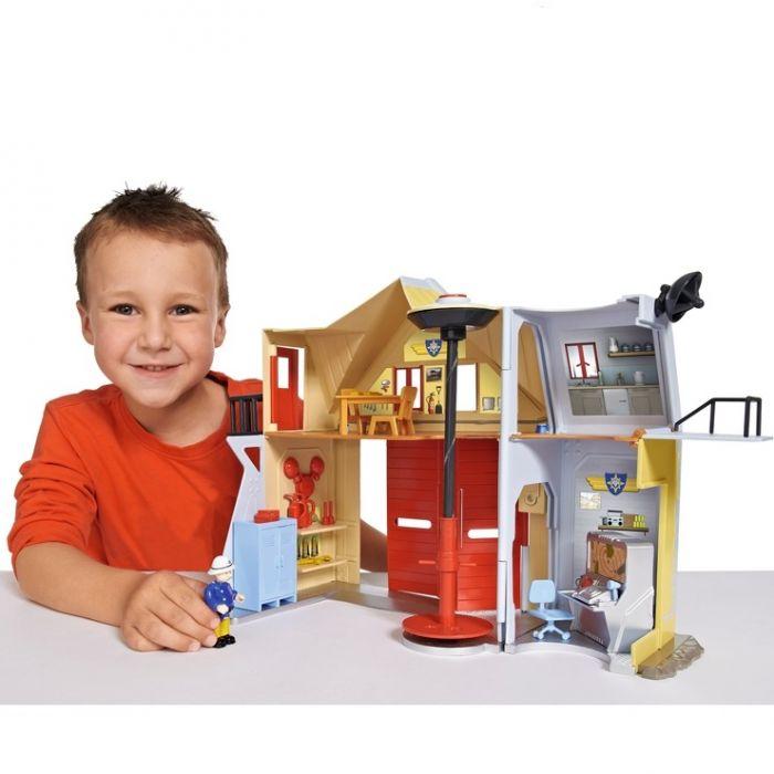Пожарная станция со звуком и светом 9251062