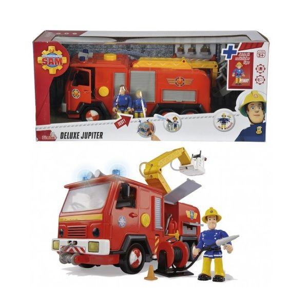 Игровой набор Deluxe Jupiter Пожарный Сэм, свет, звук, вода 9257661
