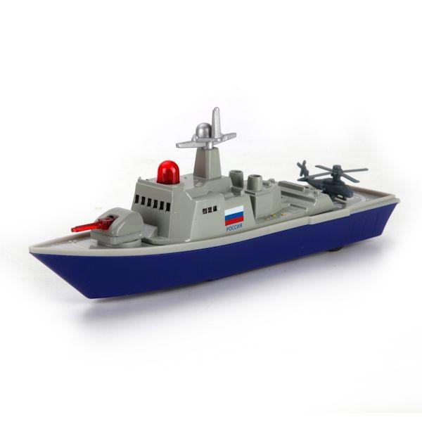 Корабль военный Технопарк свет, звук SB-16-11-A