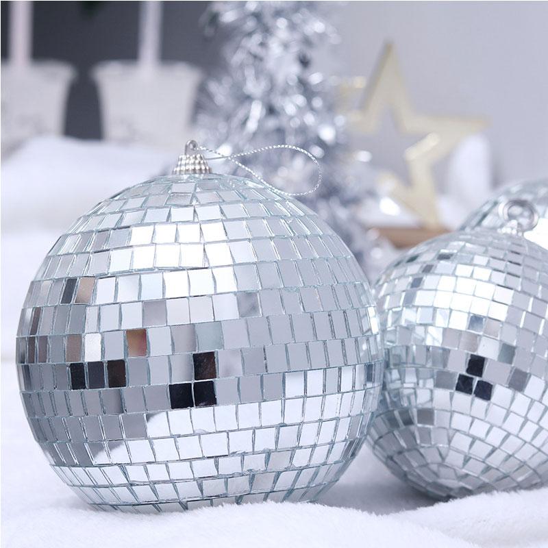 Зеркальные шары новогодние Е0340