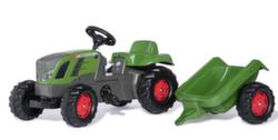 Детский трактор педальный с прицепом rollyKid Fendt 516 Vario 013166 от 2-х лет