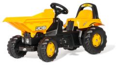 Трактор детский педальный Rolly toys Dumper Kid JCB 024247 от 2-х лет