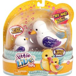Говорящие птички Мама утка говорящая с утенком Little Live Pets 28174/ 28200/ 28201/ 28202