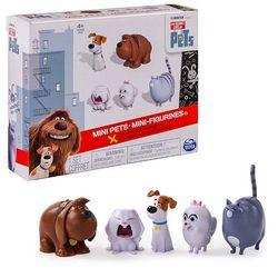 Тайная жизнь домашних животных Набор из 5 мини-фигурок Secret Life of Pets 72817
