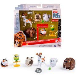 Тайная жизнь домашних животных Набор из 6 фигурок героев Secret Life of Pets 72812