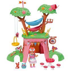 Кукольный домик  дерево с куклой Шу-шу мини лисичка Chou Chou  Zapf Creation 920-282