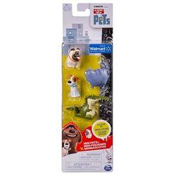 Тайная жизнь домашних животных Мини-фигурки 4 шт в ассортименте 72818