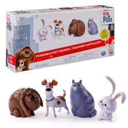 Тайная жизнь домашних животных Набор из 4 фигурок Secret Life of Pets 72815