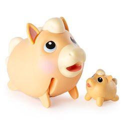 Chubby Puppies Упитанные собачки Коллекционная фигурка Лошадь Паломино 15 см 56709/3