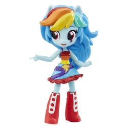 My Little Pony Мини кукла пони Девушки Эквестрии Рэйнбоу Дэш Rainbow Dash B4903/7786