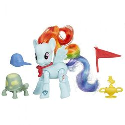Набор Май Литл Пони с артикуляцией Рейнбоу Дэш My Little Pony B5676/B3602