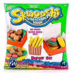 Skwooshi Набор Бургер - масса для лепки Сквоши и аксессуары S30021