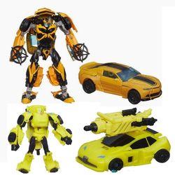 Набор Роботы трансформеры 2шт Бамблби Эпоха истребления Bumblebee Evolution B7762