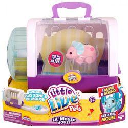 Игровой набор интерактивная мышка Little Live Pets Moose в домике-переноске 28151/28146