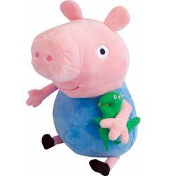 Мягкая игрушка Peppa Pig Джордж с динозавром 40 см 29626
