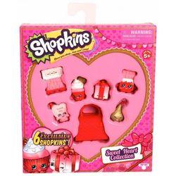 Набор Шопкинс Сладкое сердечко 6 эксклюзивных фигурок Shopkins 56221