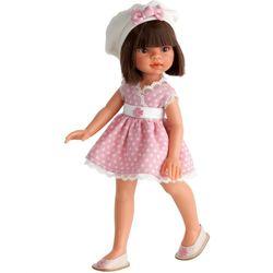 Хуан Антонио Кукла Эмили в летней одежде, брюнетка 33см 2581Br