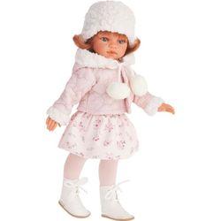 Juan Antonio Коллекционная кукла Эльвира в зимней одежде, рыжая 33см 2586W