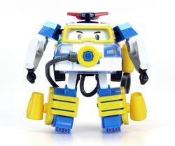 Трансформер Робокар Поли Водолаз 10см , с костюмом в наборе 83310