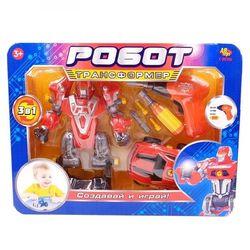 Робот-трансформер 3 в 1 Создавай и играй C-00186