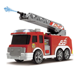 Пожарная машина с водой, свободный ход, свет и звук Dickie 15см 3302002