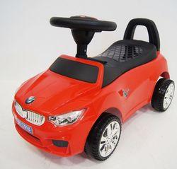 Машинка каталка Mercedes Benz свет фар, музыка JY-Z01C красный