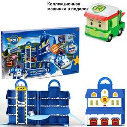 Робокар Поли Парковка - Кейс для хранения машинок 83319