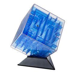 Головоломка Куб Лабиринтус 10см синий LBC0001