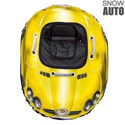 Надувные санки ватрушка SNOW AUTO SLR MClaren желтый