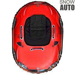 Надувные санки ватрушка SNOW AUTO X6 красный