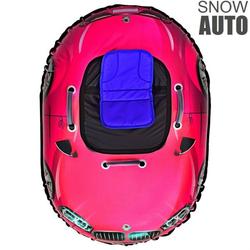 Надувные санки ватрушка SNOW AUTO X6 розовый