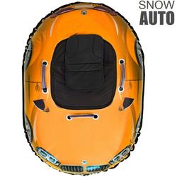 Надувные санки ватрушка SNOW AUTO X6 оранжевый