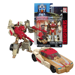 Transformers Трансформер Войны Титанов Master Autobot Stylor and Chromedome Deluxe B7762/7033