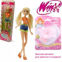 Кукла Винкс Winx Club в коллекционной одежде Стелла 1081000S