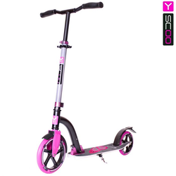 Самокат Y-scoo RT 230 Slicker Family design Butterfly pink