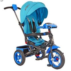 Трехколесный велосипед Leader-2 Moby Kids T400-2 Blue