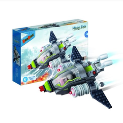Конструктор BanBao Истребитель 155 деталей 6213