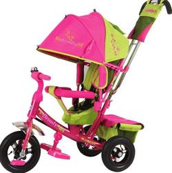 Детский трехколесный велосипед Beauty BA2GP  зелено-розовый