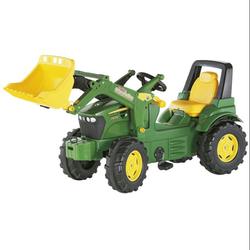 Трактор педальный с ковшом rollyFarmtrac John Deer Premium 710027 от 4-х лет