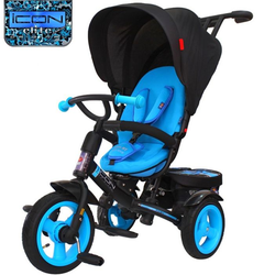 Велосипед ICON elite NEW Stroller by Natali Prigaro Blue topaz (голубой топаз)