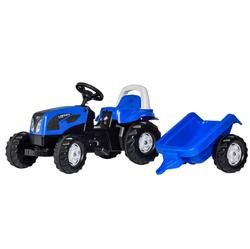 Трактор педальный с прицепом rollyKid Landini Powerfarm 011841 от 2-х лет