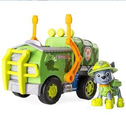 Игрушки Щенячий патруль машина и спасатель джунглей Рокки 16702