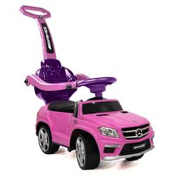Детская машинка с ручкой Mercedes Benz свет, звук, A888AA-M / SXZ1578 розовый
