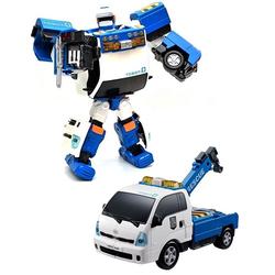 Робот трансформер Тобот ZERO и эвакуатор KIA 301018