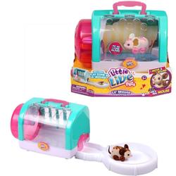 Интерактивная мышка Little Live Pets в домике-переноске 28170