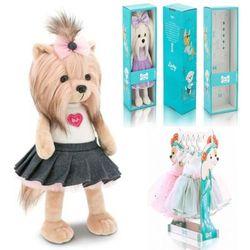 Мягкая игрушка Собака Йорк Модница Lucky Yoyo 35 см Lucky Doggy Оранж LD001