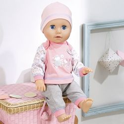 "Кукла Беби Анабель ""Учимся ходить"" 43 см  Baby Annabell Zapf Creation 700-136"